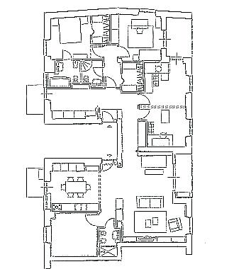 La piantina della casa
