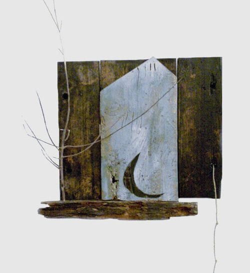 Butta la corda bis 60x45 - opera di Maurizio Ruzzi