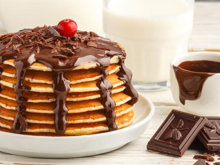 Pancake al cioccolato - Credits: Shutterstock