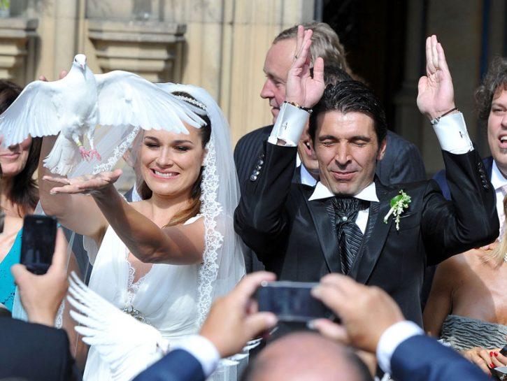 Buffon e Seredova hanno messo l'anello