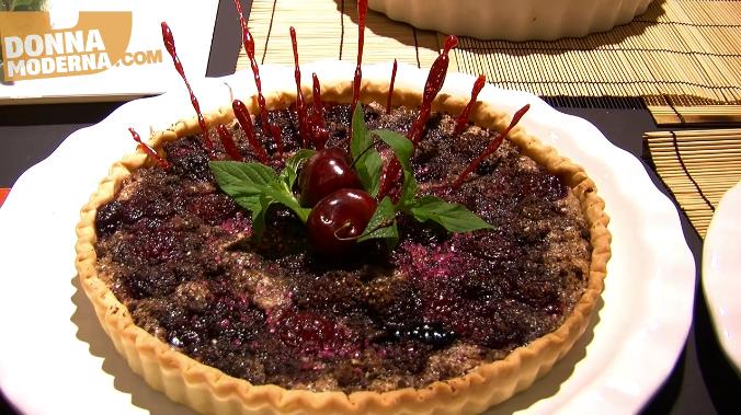 Schermata Crostata ciliege al vino rosso