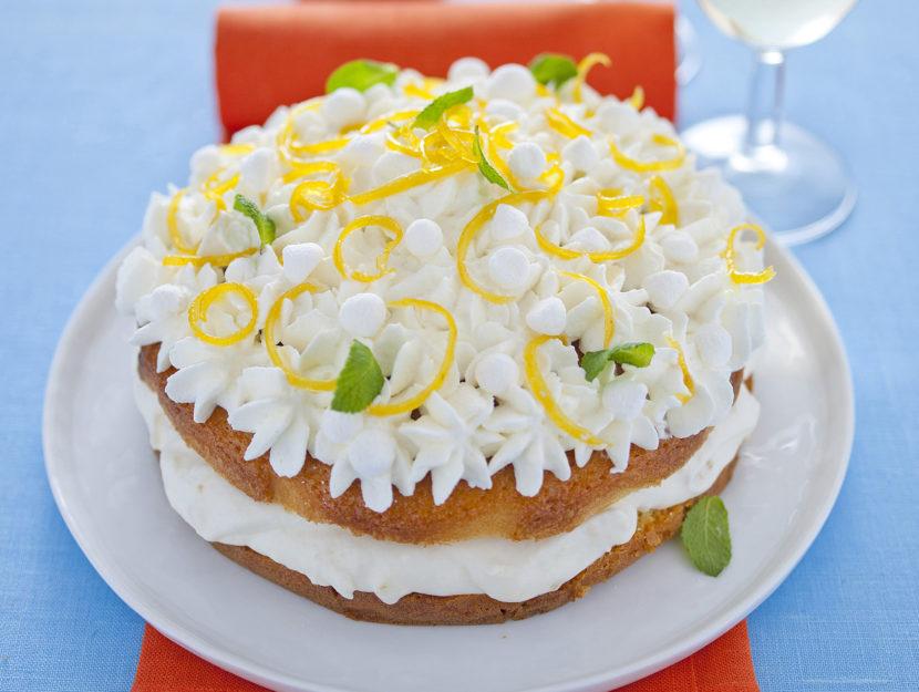 torta-al-limone-e-panna immagine