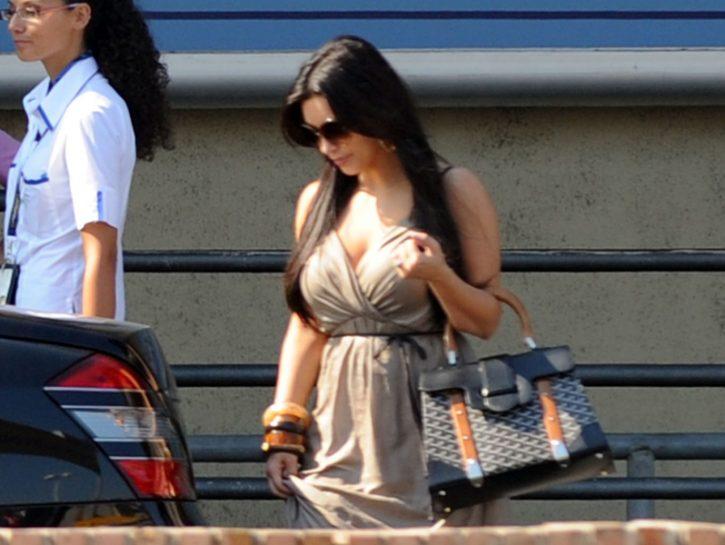 Kim Kardashian va a Capri
