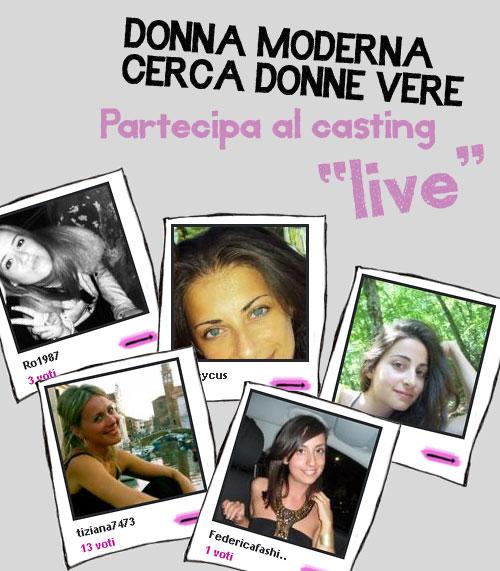 casting live articolo
