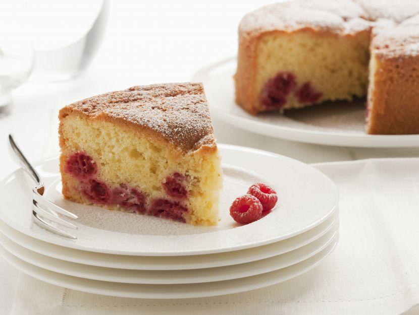 torta-soffice-ai-lamponi immagine