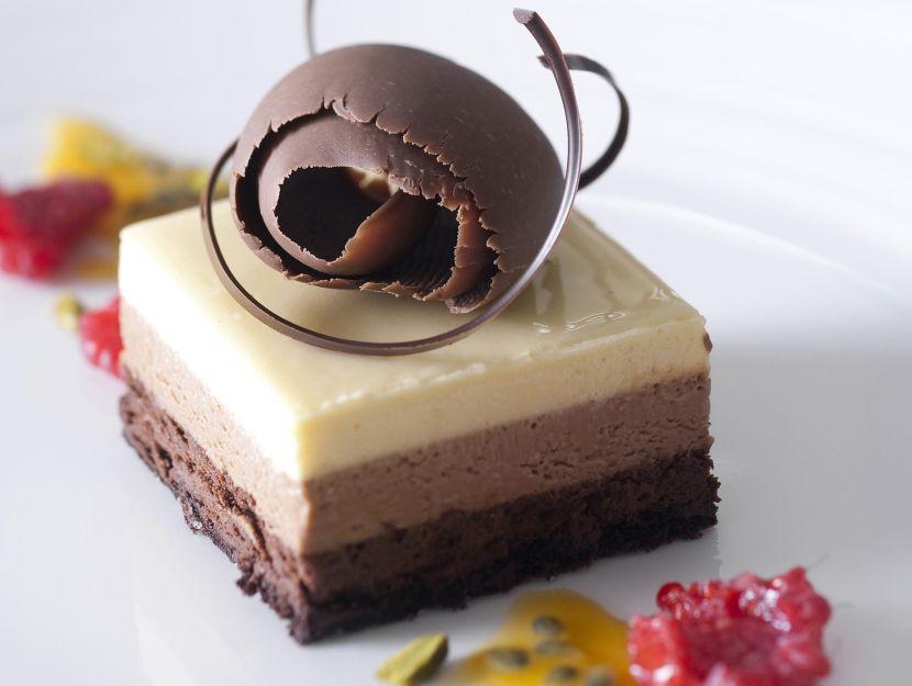 mousse-ai-tre-cioccolati ricetta
