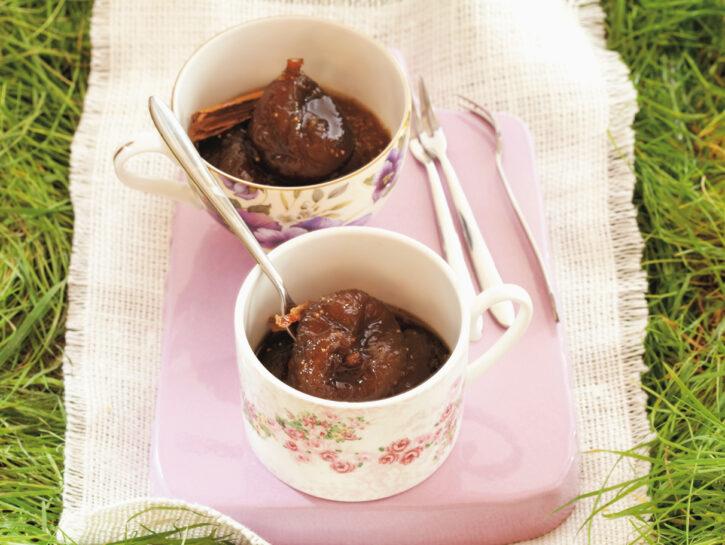 Composta di fichi con miele al pepe