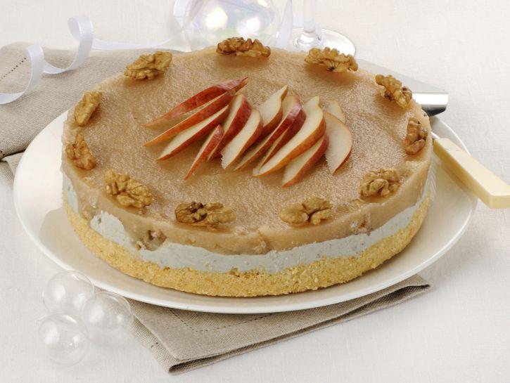 cheesecake-salato-con-zola-e-noci