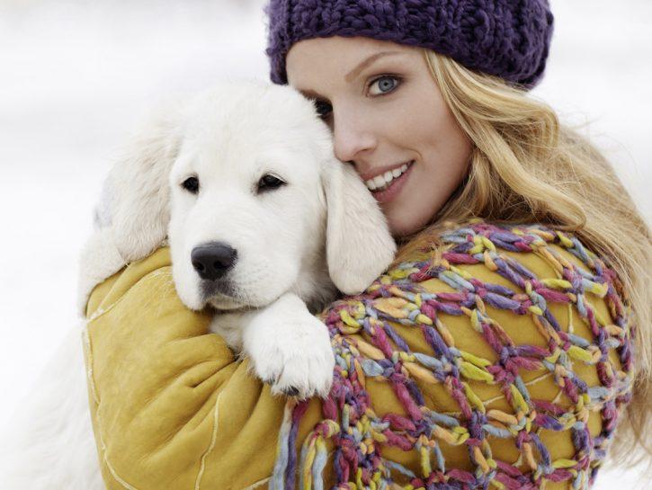 cucciolo neve