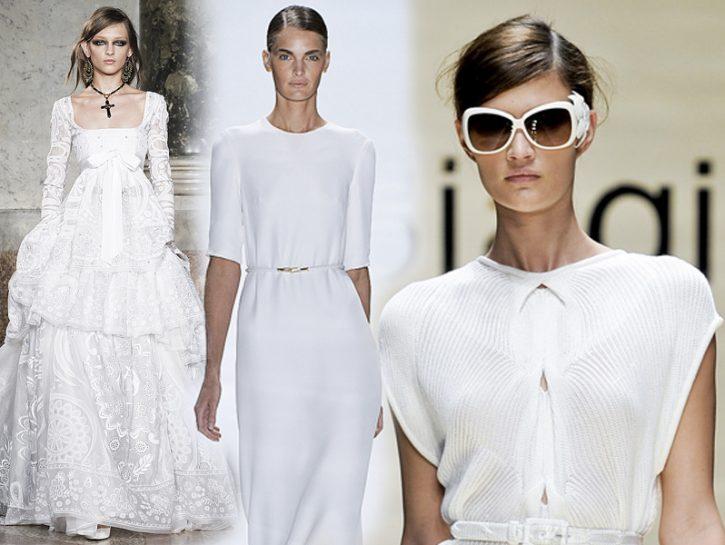 cover moda bianco