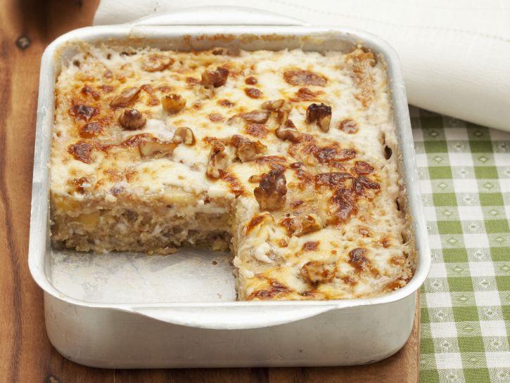 lasagne-di-polenta-con-radicchio-e-noci preparazione