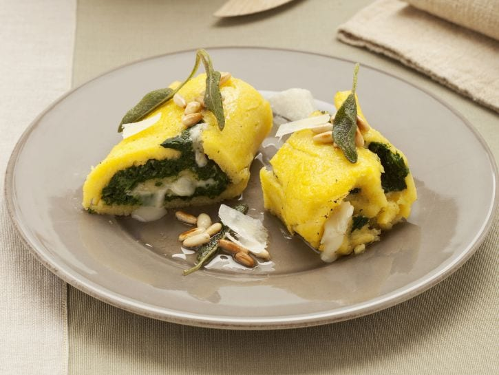 rotolini-con-gorgonzola-e-spinaci preparazione