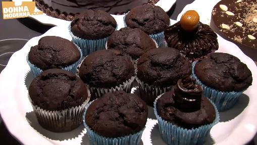 Anteprima Muffin cioccolato e banana