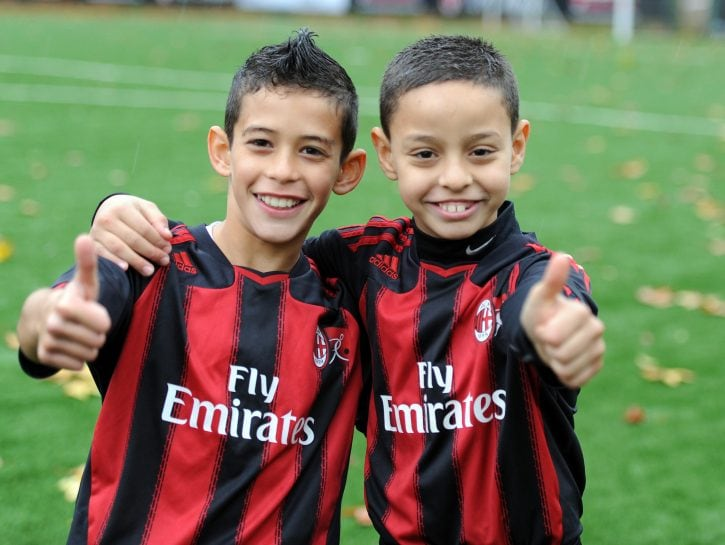Adidas Milan Junior Camp.