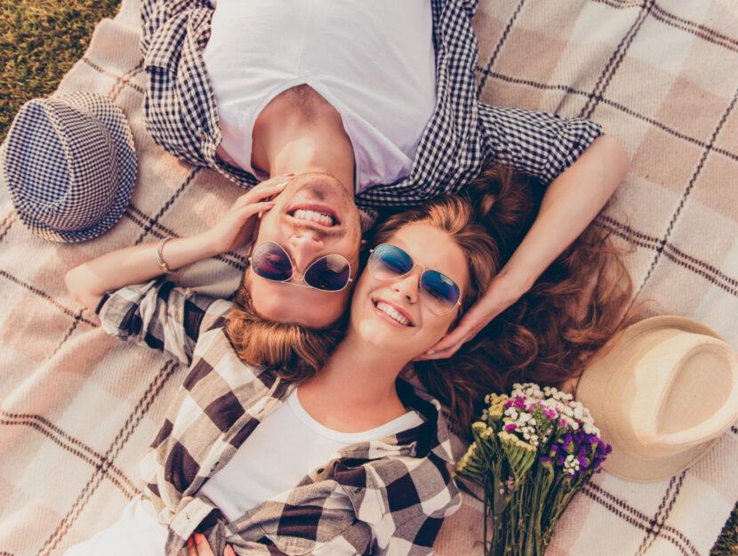 relazione di coppia felice