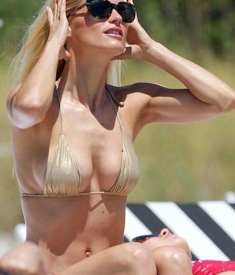 Michelle Hunziker a Miami: il piacere del sole