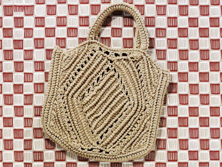 La borsa a uncinetto