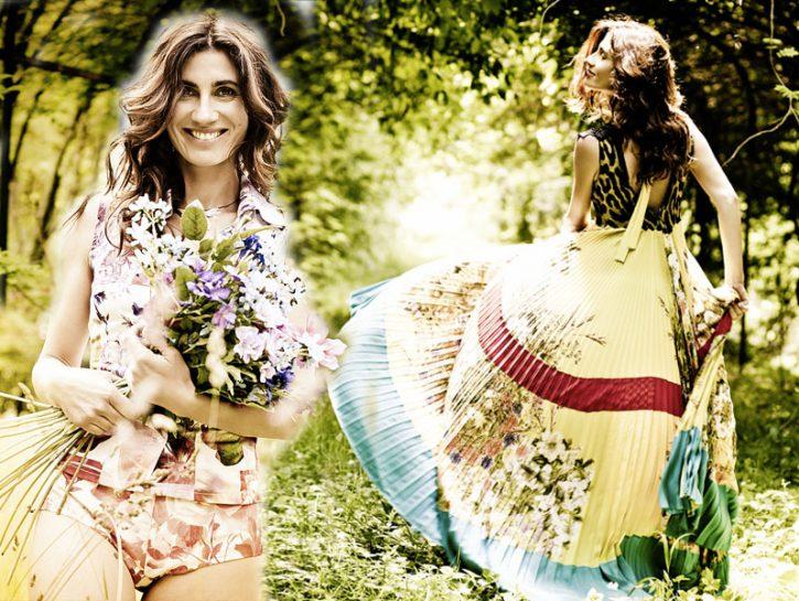cover abiti fiori