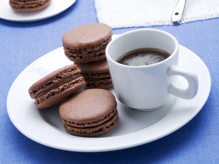 macarons-al-cioccolato immagine