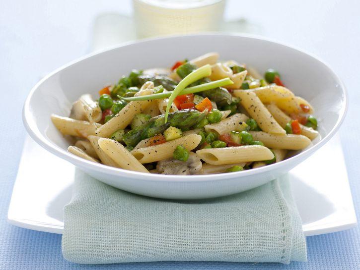 pasta-risottata-con-sugo-primavera immagine
