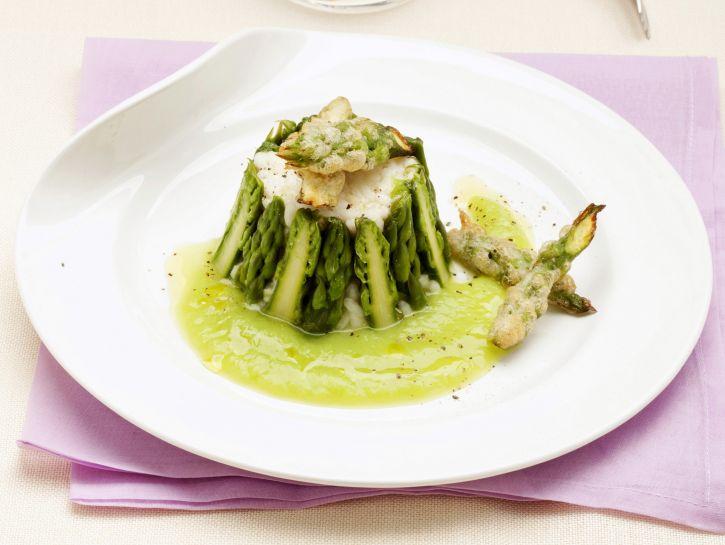 risotto-in-gabbia-di-asparagi immagine