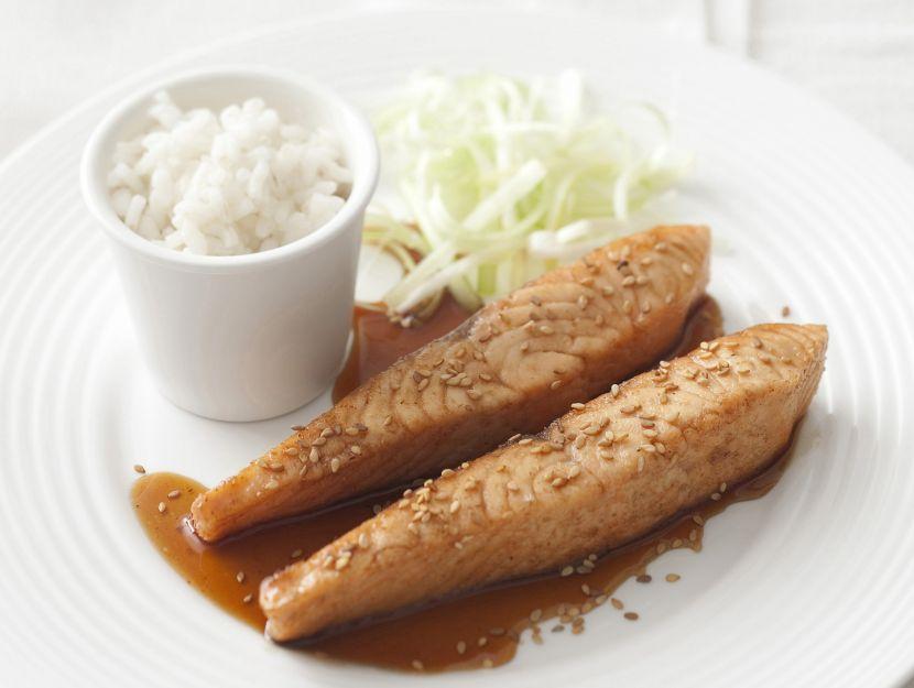 salmone-teriyaki