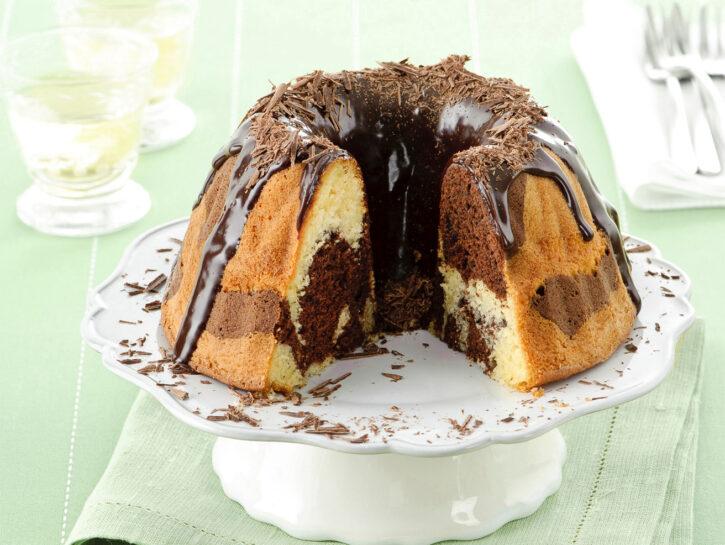 Torta marmorizzata al peperoncino