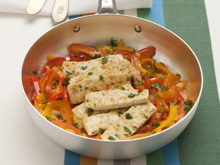 tofu-allo-zenzero-con-i-peperoni preparazione