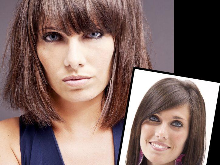 Cambio taglio di capelli: corto sfilato e frangia