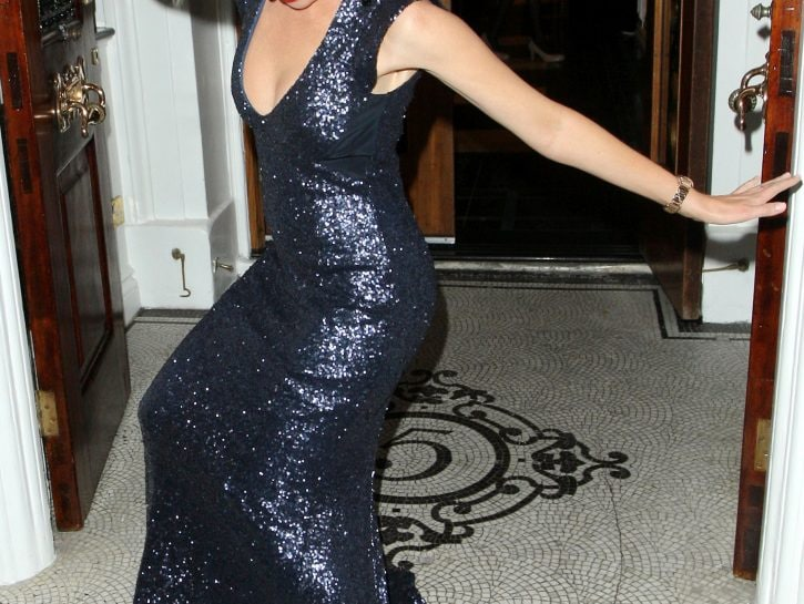 Dannii Minogue: caduta accidentale