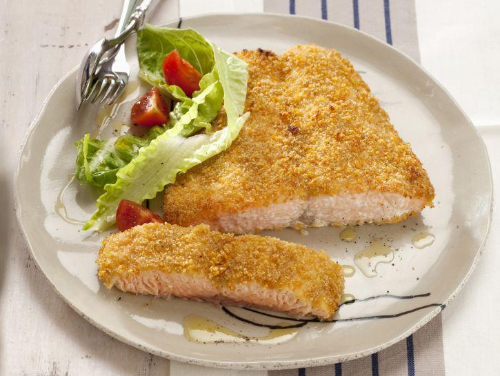 salmone-al-forno-in-crosta-di-zenzero preparazione