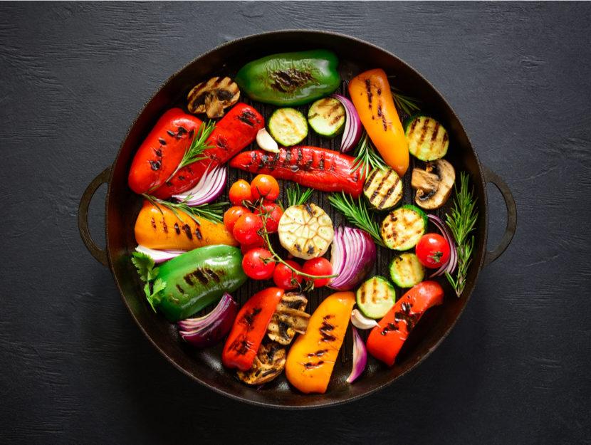 verdura cotta o cruda