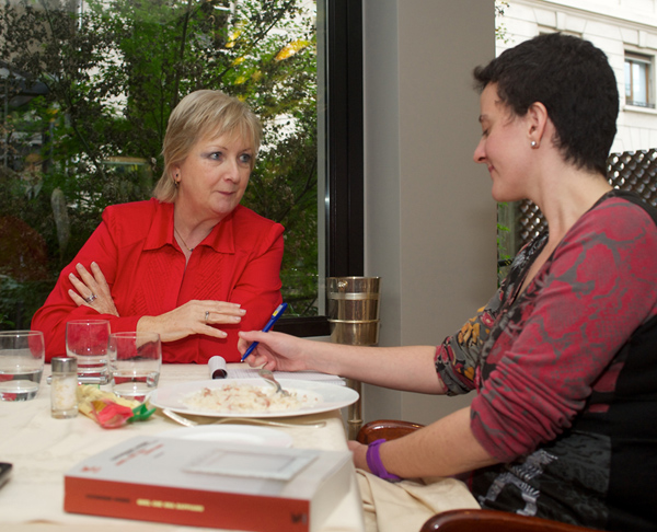 A pranzo con Catherine Dunne