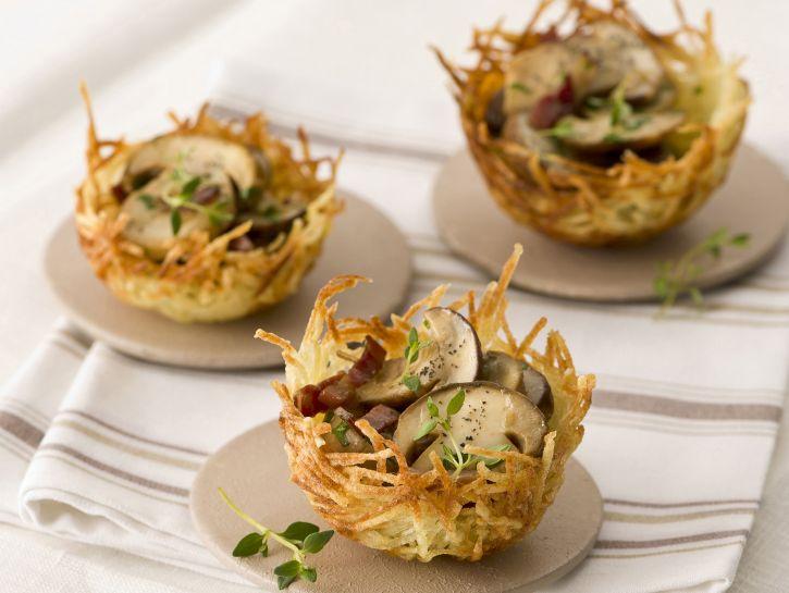 cestini-fritti-di-patate-con-porcini preparazione