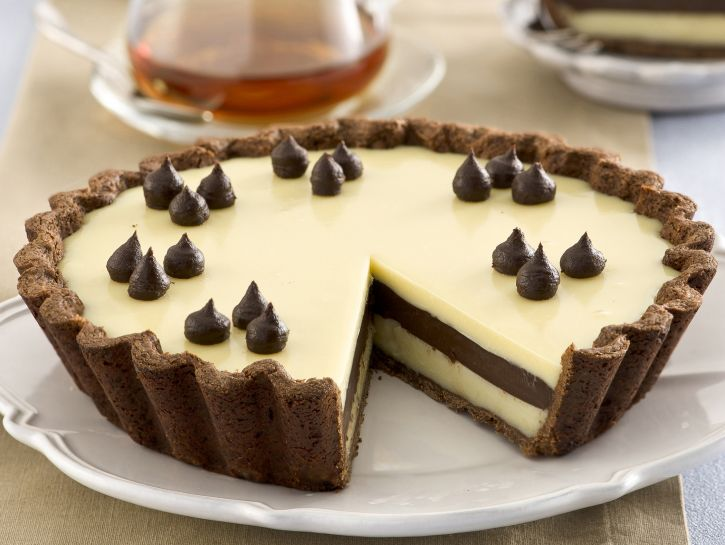 tarte-al-doppio-cioccolato foto
