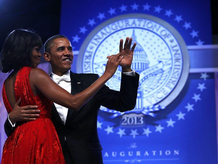 Il Presidente e la First Lady: 2013 di cambiamento