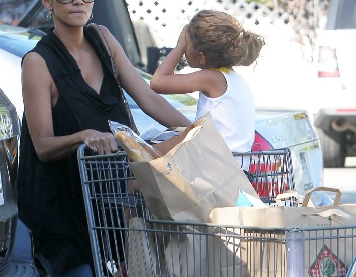 Halle Berry a Los Angeles