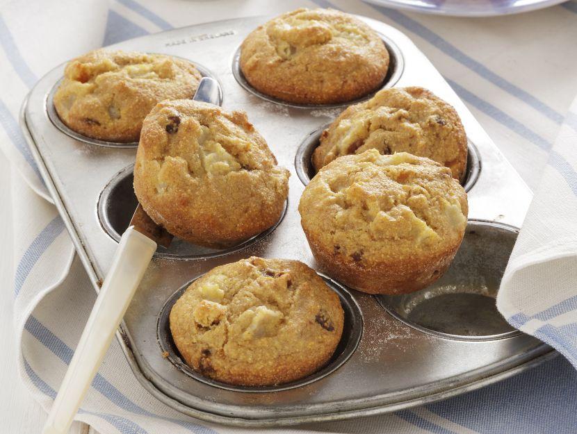 muffin-soffici-di-frutta-disidratata preparazione