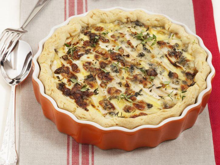 quiche-di-pere-e-gorgonzola preparazione