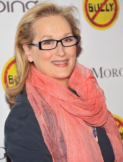 Meryl Streep: rosa colore di primavera