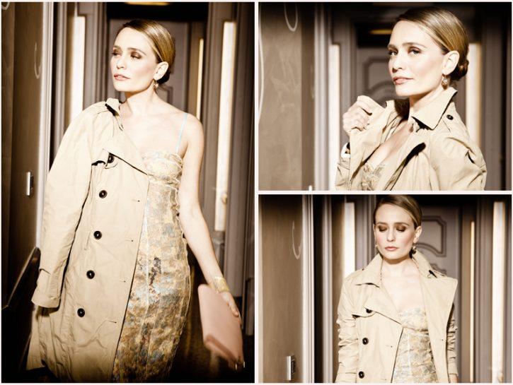 Moda: il trench per un abito che brilla