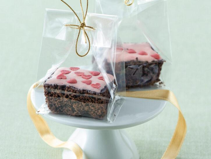 Quadrotti di brownie al cioccolato