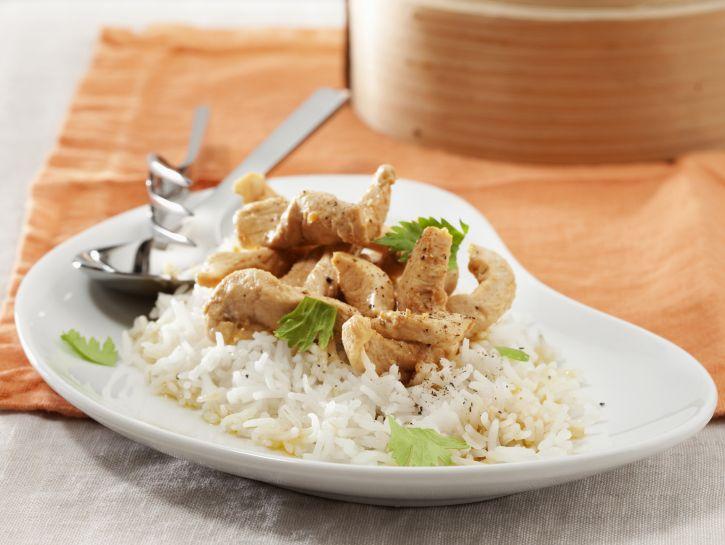 riso-basmati-con-pollo-marinato preparazione