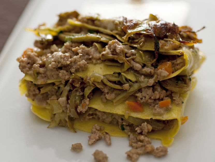 terrinette-al-ragu-con-carciofi ricetta