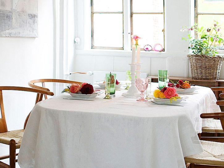 tavola-rose
