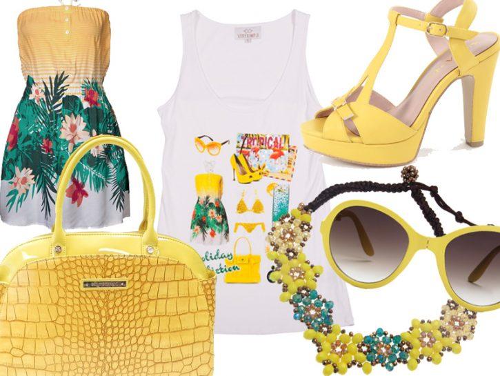 La moda in giallo