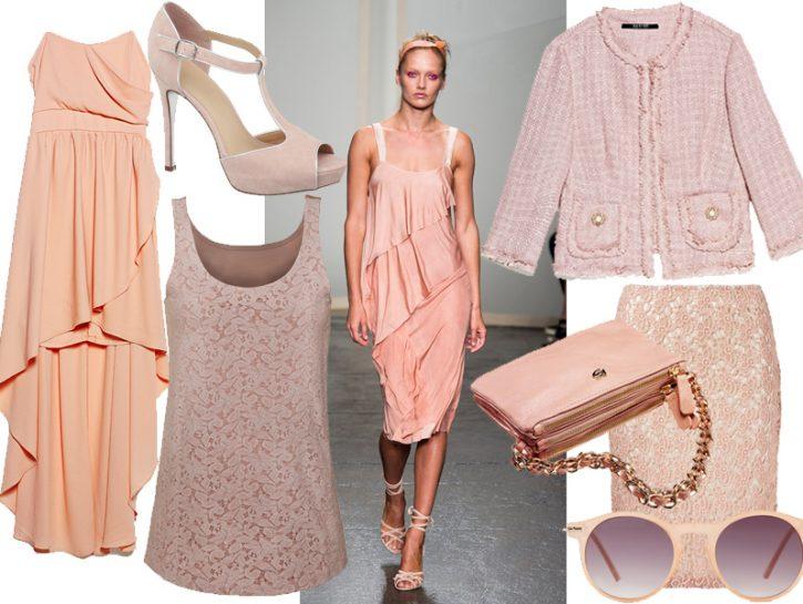 Moda: la tentazione del color cipria