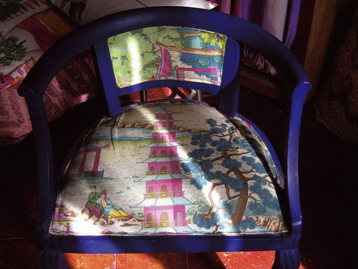 nuovo look per la vecchia sedia