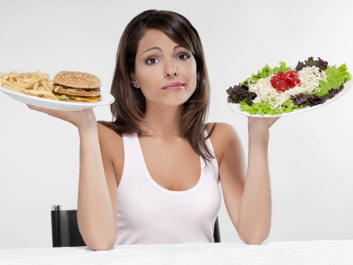 Come mangiare bene senza accumulare grassi