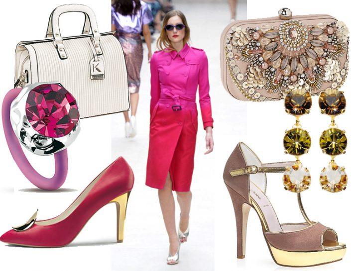 Accessori: tutte le tonalità del rosa e del fucsia